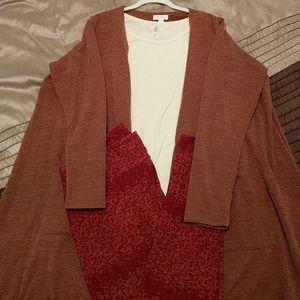 Lularoe Autumn Outfit! XL sarah, TC, 3XL classic